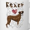 Geometric Boxer - Coffee/Tea Mug