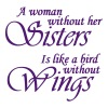 A Woman Without Sister is like a Bird Without Wing - Coffee/Tea Mug