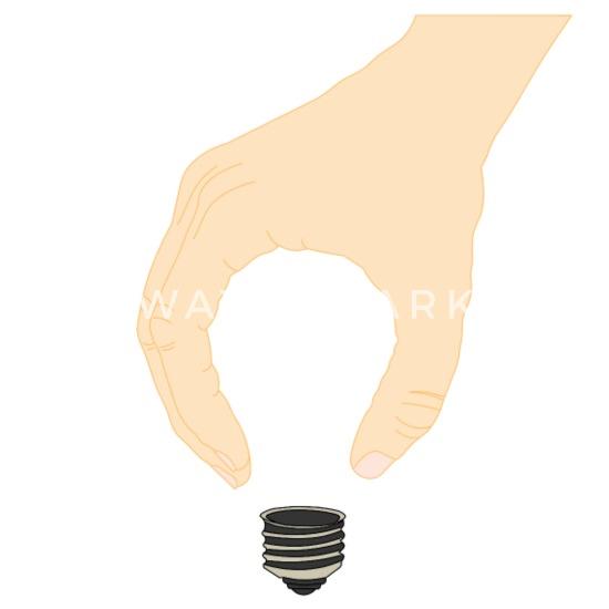 Inventor Mindset Thinker Lamp Idea Maker Gift Coffee Tea Mug White