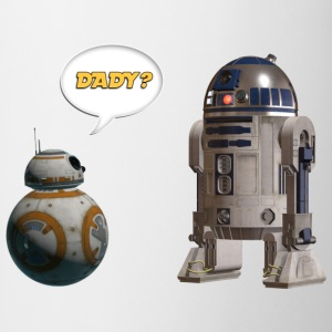 BB8 R2D2 Are you my dady? - Coffee/Tea Mug