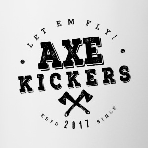 AXE KICKERS LOGO - Coffee/Tea Mug