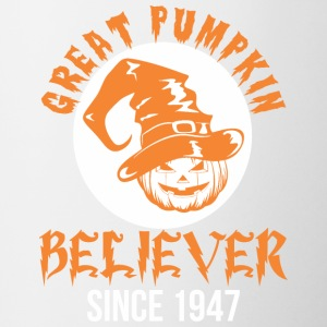 Halloween Great Pumpkin Believer Since 1947 - Coffee/Tea Mug