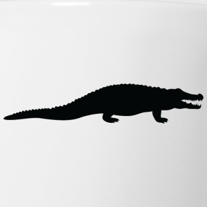 A Dangerous Crocodile - Coffee/Tea Mug