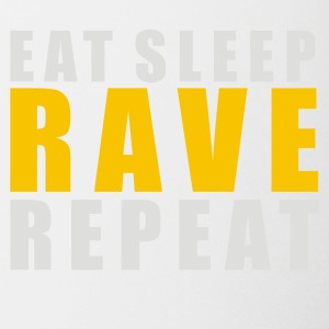 EAT SLEEP RAVE REPEAT - Coffee/Tea Mug