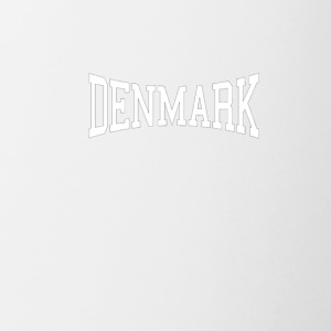DENMARK Athletic Arched Text T Shirt Premium - Coffee/Tea Mug