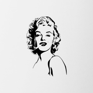 Marylin smoke - Coffee/Tea Mug