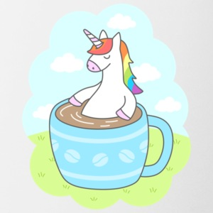 Unicorn Coffee Gift Shirt High Quality - Coffee/Tea Mug