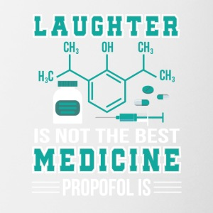 Laughter Not Best Medicine Propofol Is - Coffee/Tea Mug