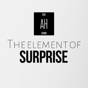The element of surprise is AH - Coffee/Tea Mug