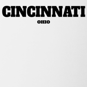 OHIO CINCINNATI US EDITION - Coffee/Tea Mug