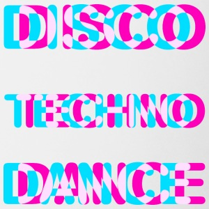 Disco dance techno - Coffee/Tea Mug
