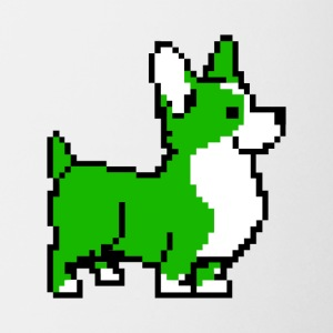 Green Corgi - Coffee/Tea Mug