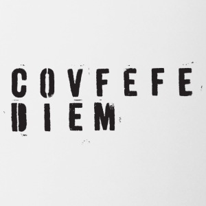 CovfefeDiem black - Coffee/Tea Mug