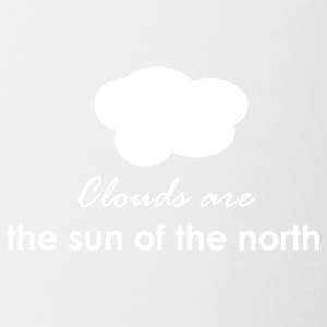 Clouds are the sun of the north - Coffee/Tea Mug