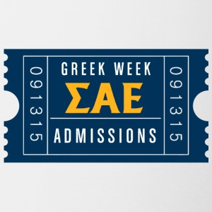 Greek Week Admissions - Coffee/Tea Mug