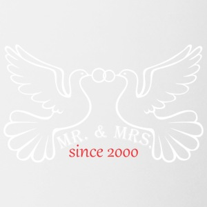 Mr And Mrs Since 2000 Married Marriage Engagement - Coffee/Tea Mug