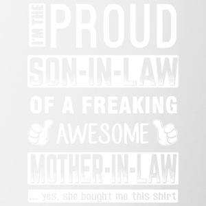 IM THE PROUD SON IN LAW - Coffee/Tea Mug