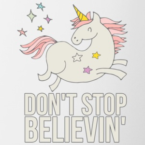 Unicorn Don't Stop Believin' Gift Shirt Limited - Coffee/Tea Mug