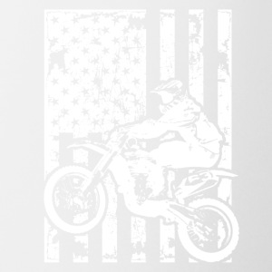 Dirt Bike Flag Shirt - Coffee/Tea Mug