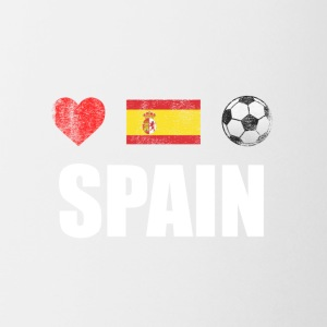 Spain Football Spaniard Soccer T-shirt - Coffee/Tea Mug