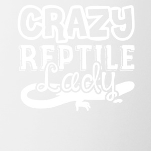 Crazy Reptile Lady Shirts - Coffee/Tea Mug