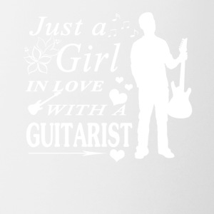 GIRL IN LOVE WITH GUITARIST SHIRT - Coffee/Tea Mug