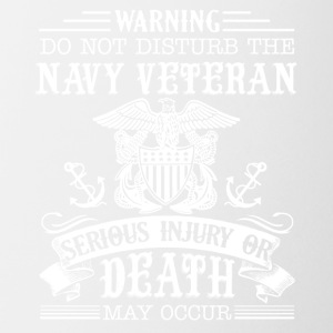 Navy Veteran Shirt - Coffee/Tea Mug
