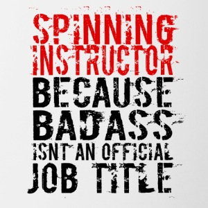 SPINNING INSTRUCTOR BADASS JOB TITLE - Coffee/Tea Mug
