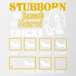 Stubborn Basset Hound Dog Shirt - Coffee/Tea Mug
