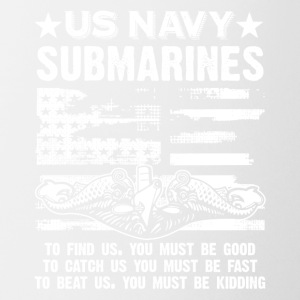 US Navy Submarine Tee Shirt - Coffee/Tea Mug