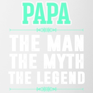 Papa The Man The Myth The Legend - Coffee/Tea Mug