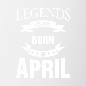 Legends are born in April - Coffee/Tea Mug