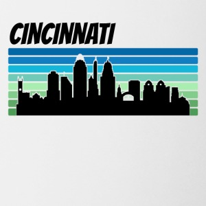 Retro Cincinnati Skyline - Coffee/Tea Mug