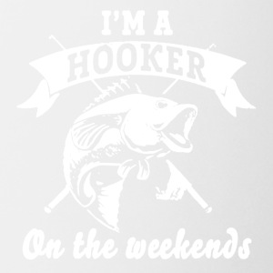 Hooker On The Weekends Tee Shirt - Coffee/Tea Mug