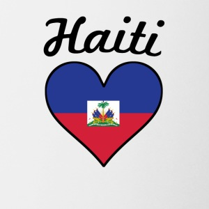 Haiti Flag Heart - Coffee/Tea Mug