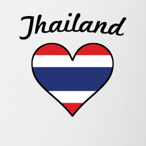 Thailand Flag Heart - Coffee/Tea Mug