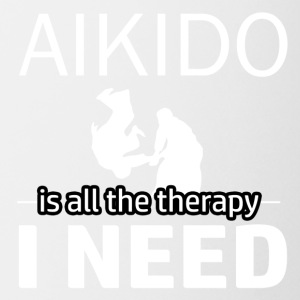 Aikido is my therapy - Coffee/Tea Mug
