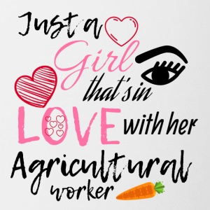 A girl that's in love with her agricultural worker - Coffee/Tea Mug