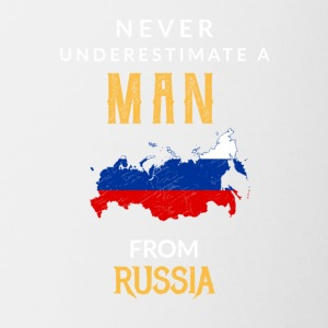 Never underestimate a man from russia! - Coffee/Tea Mug