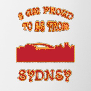 SYDNEY I am proud to be from - Coffee/Tea Mug