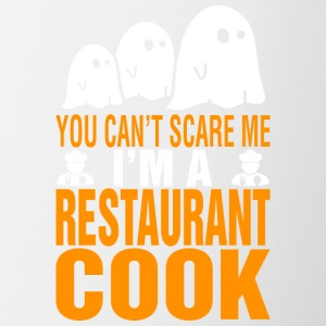 You Cant Scare Me Im Restaurant Cook Halloween - Coffee/Tea Mug