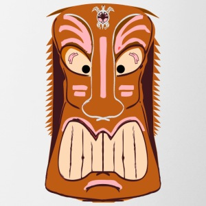 Tiki Mask Graphic Art - Coffee/Tea Mug