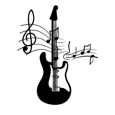 Usa Flag Guitar