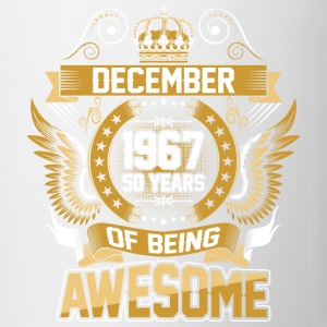 December 1967 50 Years Of Being Awesome - Coffee/Tea Mug