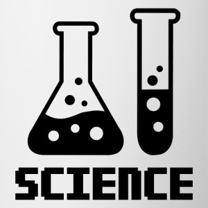Science – Test Tube and Conical Flask - Coffee/Tea Mug