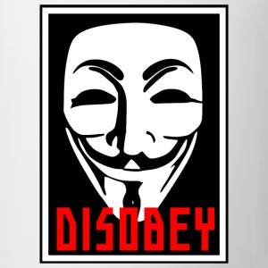 DISOBEY MASK - Coffee/Tea Mug