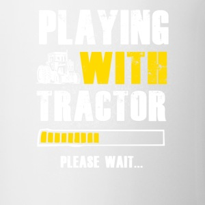 Play with Tractor Farmer T Shirts - Coffee/Tea Mug