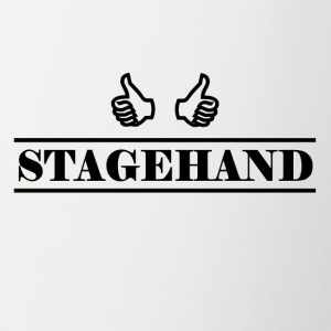 stagehand black - Coffee/Tea Mug