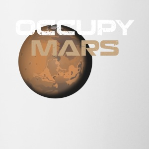 occupy mars - Coffee/Tea Mug