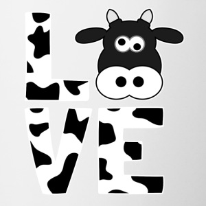 I love cows - Gift for farmers - Coffee/Tea Mug